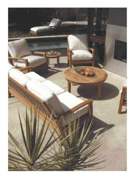 Years Ago, The Perfect Poolside Patio Might Have Included A Black Weber  Grill, A RustOleum Coated Table And Chairs From A Hardware Store And Maybe  A Swing ...