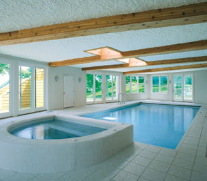 Indoor Pools Potential Problems AQUA Magazine - Enclosed pool designs
