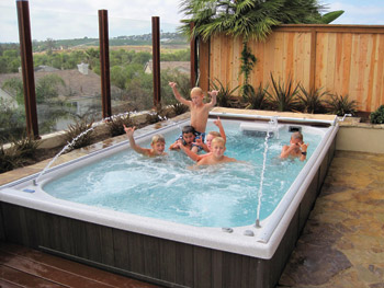 Could Smaller Yards Could Spell Bigger Sales For Swim Spas