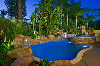 photo of completed project by Don Ramos of Distinguished Pools