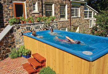 Endless Pools Cost Backyard Swimming And Swim Spas Jc