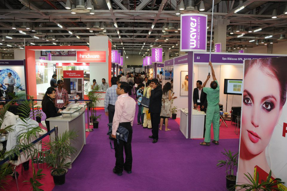 Waves expo 2012 solidifies india 39 s role in global pool spa for Pool and spa show dubai