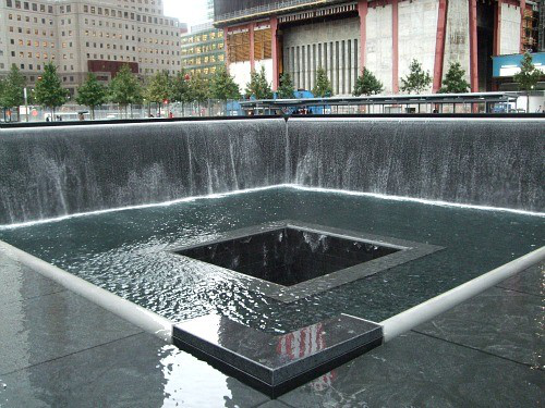 Image result for reflecting absence pools nyc