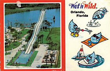 postcard for Wet 'n Wild in Florida