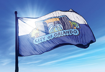 photo of Orlando flag
