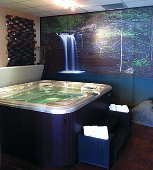 photo of high-tech pool and spa makeover