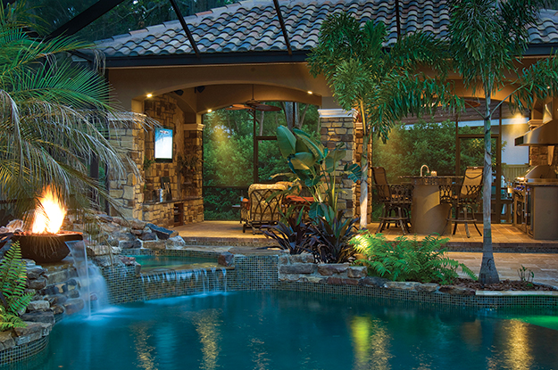 An Inside Look At Creating Outdoor Rooms