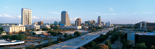 photo of the Orlando skyline