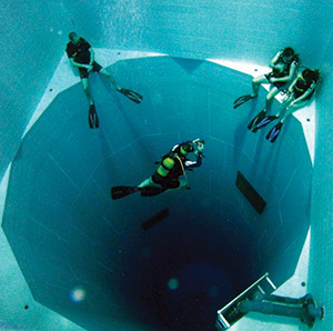 photo of deepest pool