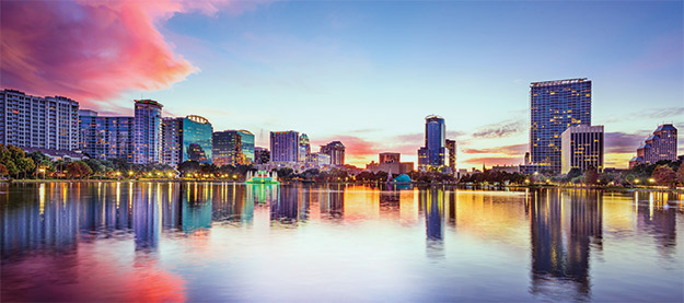 photo of Orlando skyline