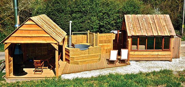 A Tiny Spa By A Tiny House AQUA Magazine