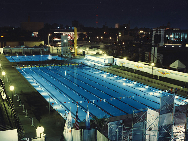 uscs mcdonalds swim stadium aquatics venue for the 1984 los angeles summer olympic games photo courtesy of rowley international