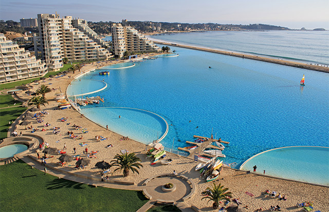 How big is the largest pool in the world aqua magazine - Where is the worlds largest swimming pool ...