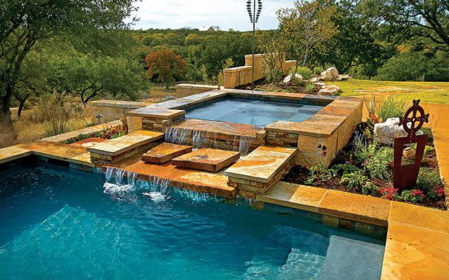 The Beautiful World of Pool & Spa Combos - AQUA Magazine