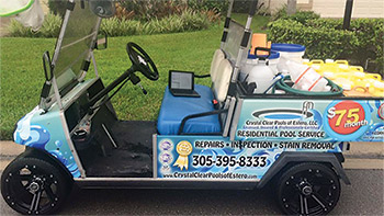 That's a Wrap! - AQUA Magazine on ezgo cart skins, golf kart race car, custom golf cart skins, golf carts vehicle, ez go golf cart skins, golf cart vinyl wraps, golf carts ez go freedom series, golf carts dealers in miami, golf carts for disabled,