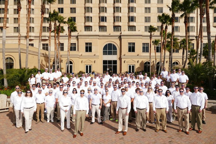 ASP franchisees at 10th annual owners meeting