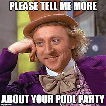 They Will Say Exactly What Comes Into Their Heads, No Matter How Crazy.  Here Are Just A Few Of The Senseless Things Pool Owners Say That Pool  Professionals ...
