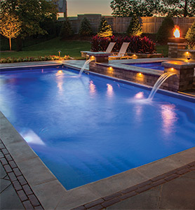 Go From Ordinary To Extraordinary With A Barrier Reef Fibergl Pool Pools Are Available In Seven Diffe Colors Each Topped