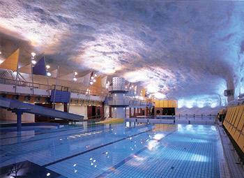 Inside Helsinki\'s Underground Swimming Pool - AQUA Magazine