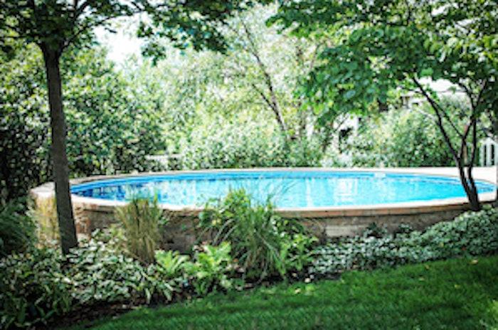 Fox Pools Ultimate Pools Sloping Backyard Stevens Pool Inst Taus 2