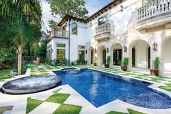 Category: TRADITIONAL By: Platinum Pools, Houston, Texas