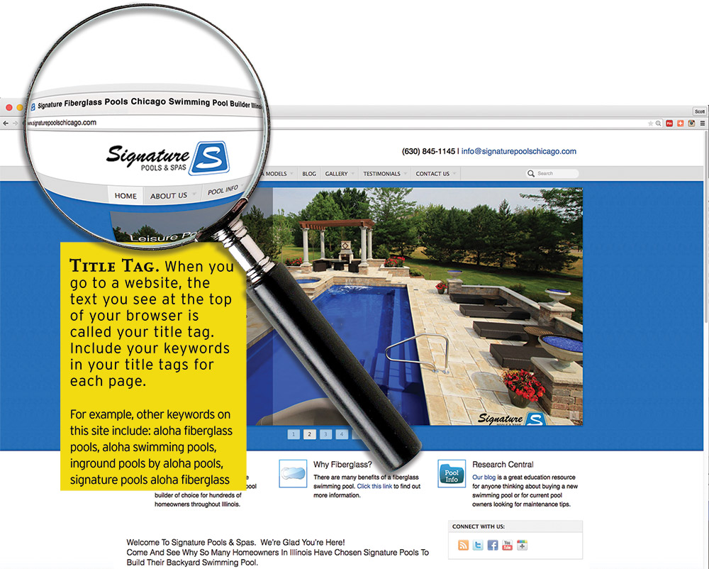 A Close Look At Signature Poolsu0027s (Sandwich, Ill.) Homepage.   Click To  Enlarge
