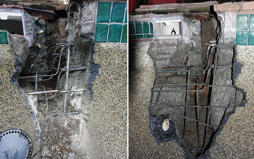Case study repairing structural cracks aqua magazine - How to fix a hole in a swimming pool ...