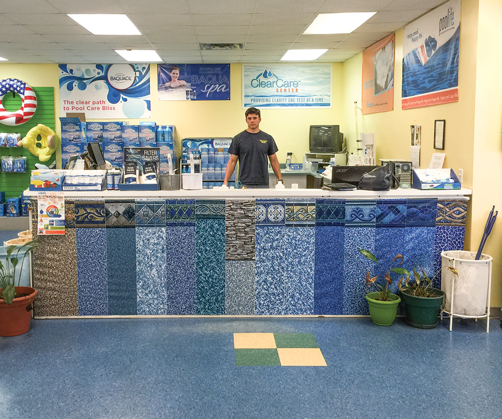 We Needed To Make It More Inviting And Draw People To The Water Analysis  Area,u0027 Says Tonia Simpson, Owner Of Pool U0026 Patio Center.