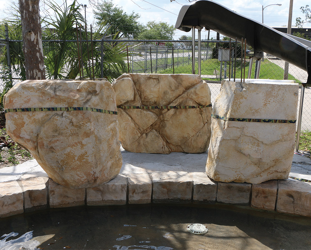 Boulders Around Pool Fascinating Why Caves And Grottos Are Easy Profitable Pool Addons  Aqua