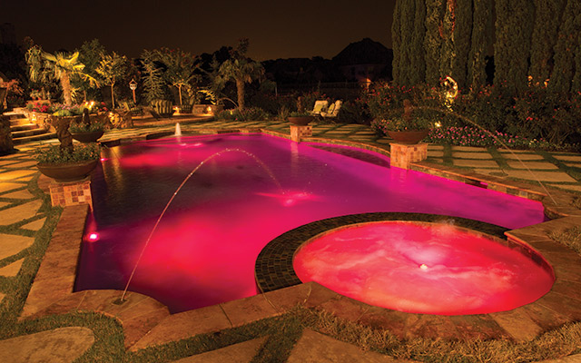 LEDs: The New Direction of Pool Lighting