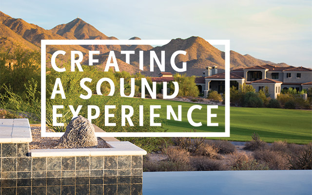 Creating a Sound Experience
