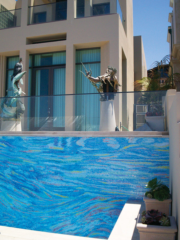 slideshow  a portfolio of pool and spa tile projects