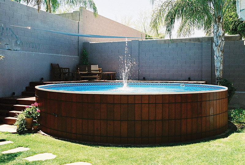 Making An Outdoor Oasis Around Your Intex Pool: SLIDESHOW: What You Can Do With An Aboveground Pool