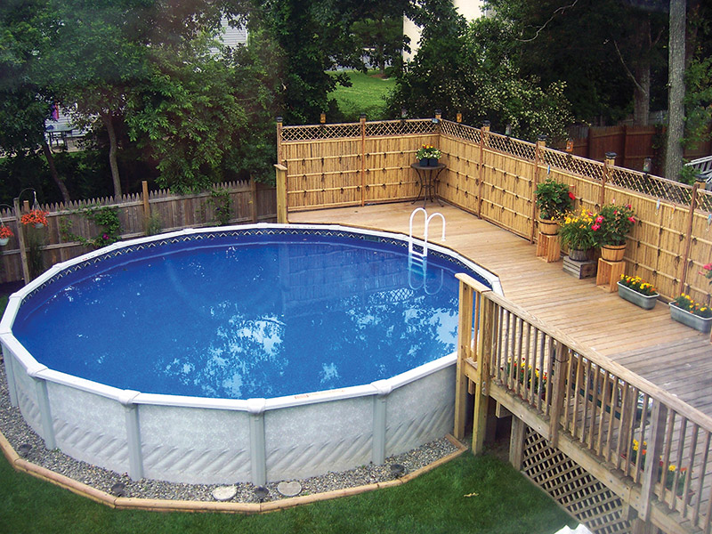 Slideshow What You Can Do With An Aboveground Pool Aqua Magazine