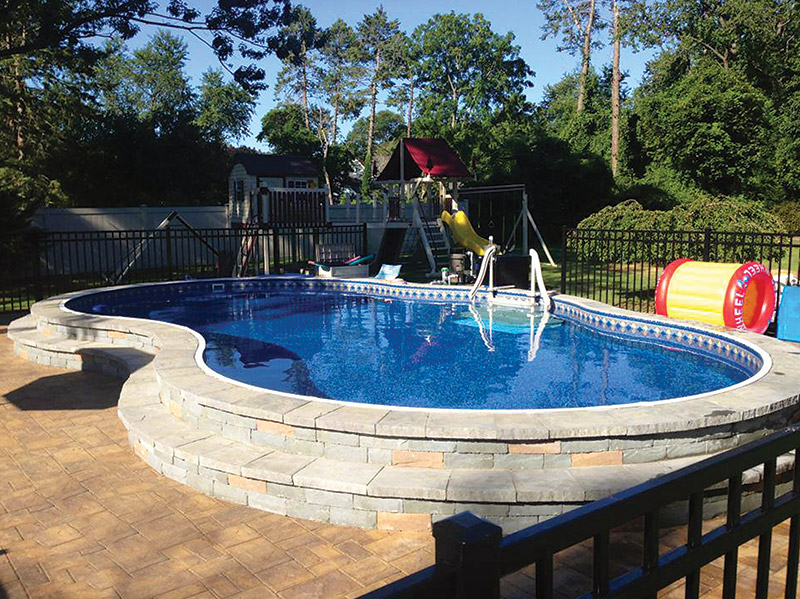 Slideshow What You Can Do With An Aboveground Pool Aqua