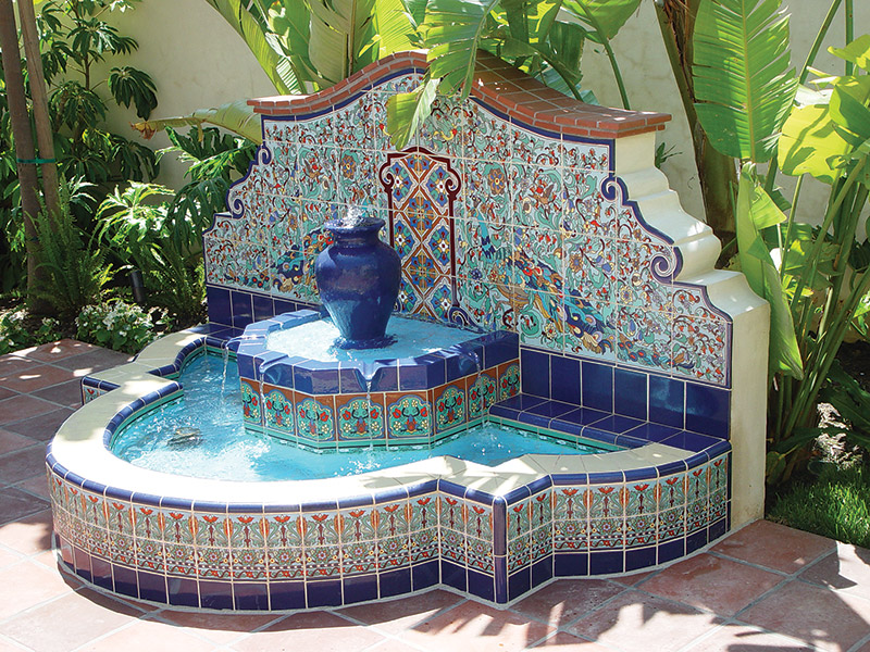 Very Spanish Style Outdoor Fountains Designs Sx92